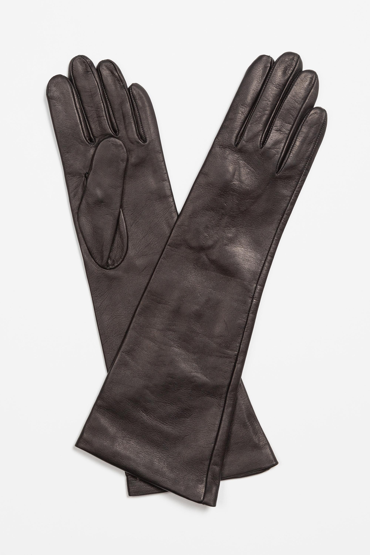 цена на Перчатки из натуральной кожи VASSA&Co
