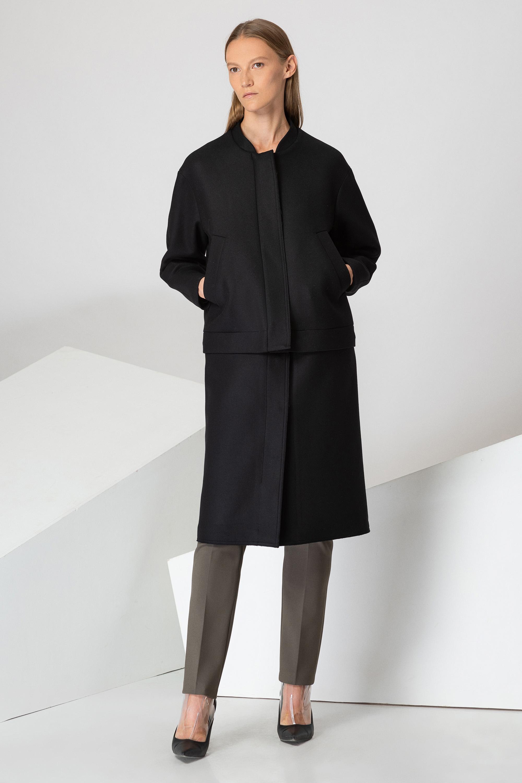 Пальто-трансформер прямого кроя VASSA&Co пальто vassa