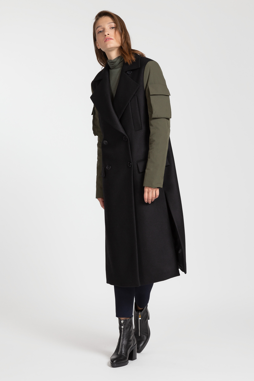 Пальто в стиле милитари VASSA&Co пальто vassa