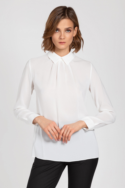 Блузка из вискозы с длинным рукавом VASSA&Co
