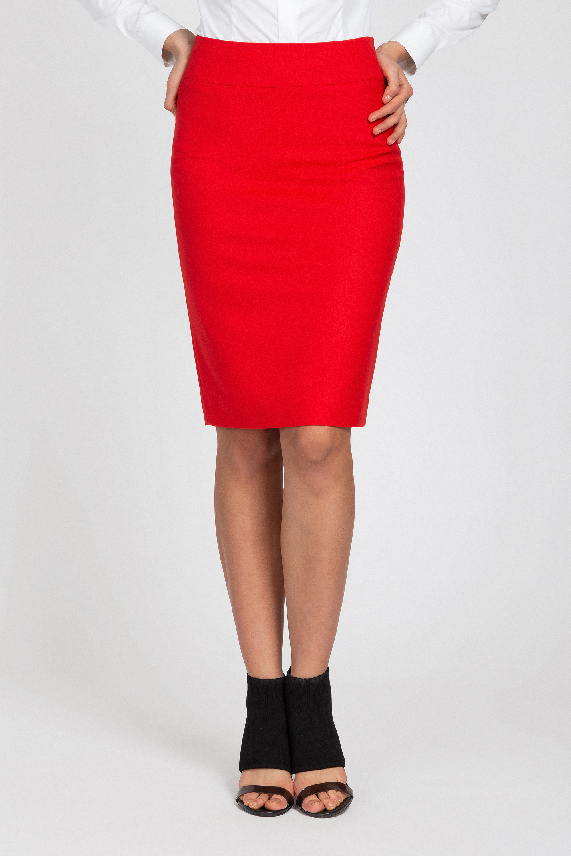 Юбка VASSA&Co юбку карандаш большого размера