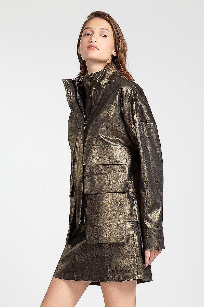 Куртка милитари свободного кроя VASSA&Co gmp factory suppy co q10 98