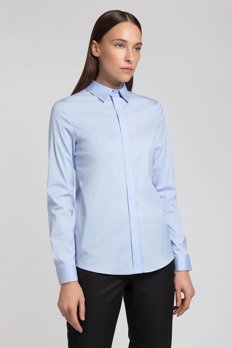 Классическая блузка из хлопка VASSA&Co
