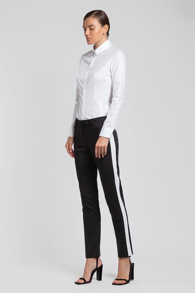 Блузка приталенного кроя VASSA&Co фото
