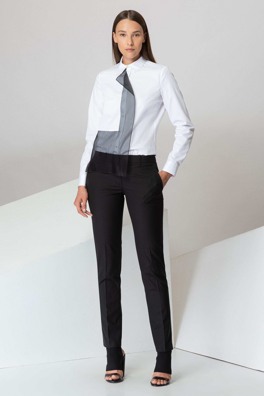 Классические брюки с боковыми карманами VASSA&Co