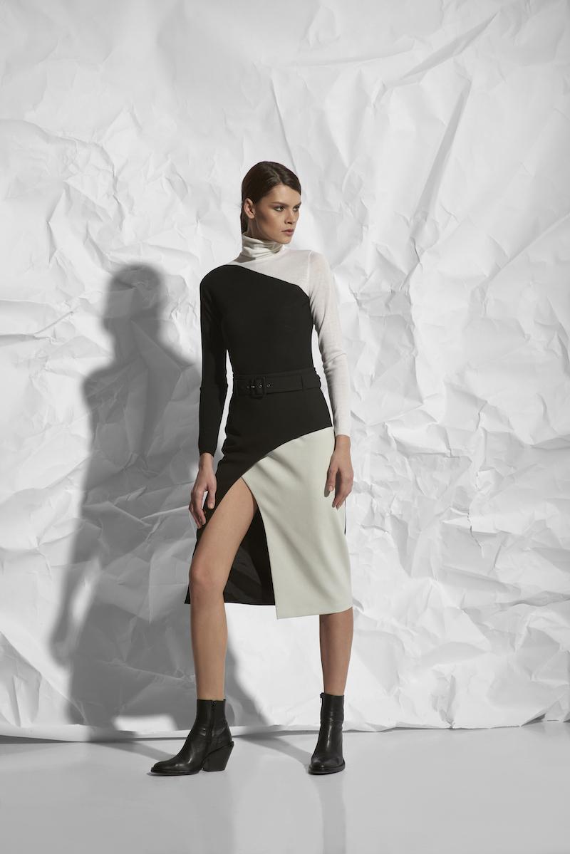 Зауженная юбка с завышенной талией VASSA&Co юбка карандаш из хлопка vassa