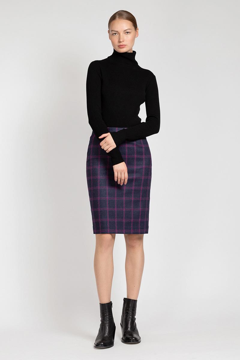Классическая юбка-карандаш VASSA&Co юбка карандаш из хлопка vassa