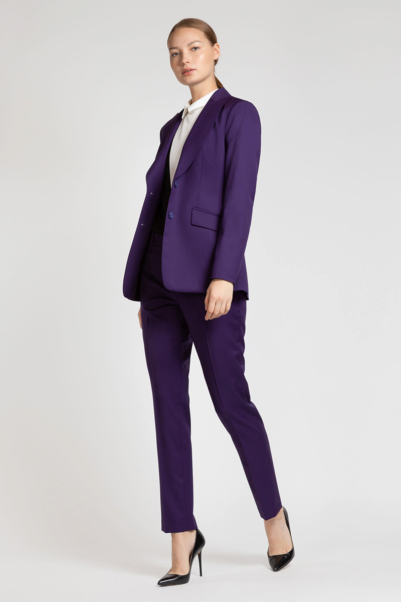 Зауженные брюки из шерсти VASSA&Co
