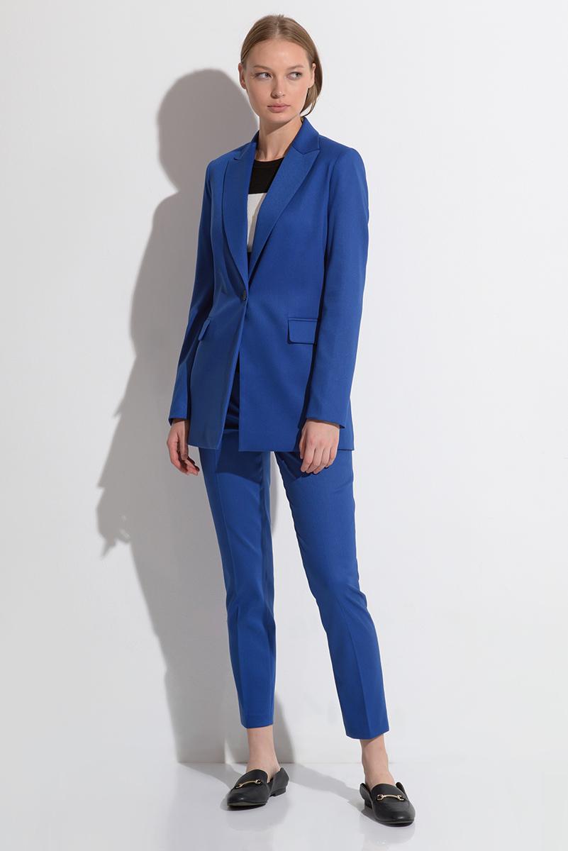 Классический жакет синего цвета VASSA&Co