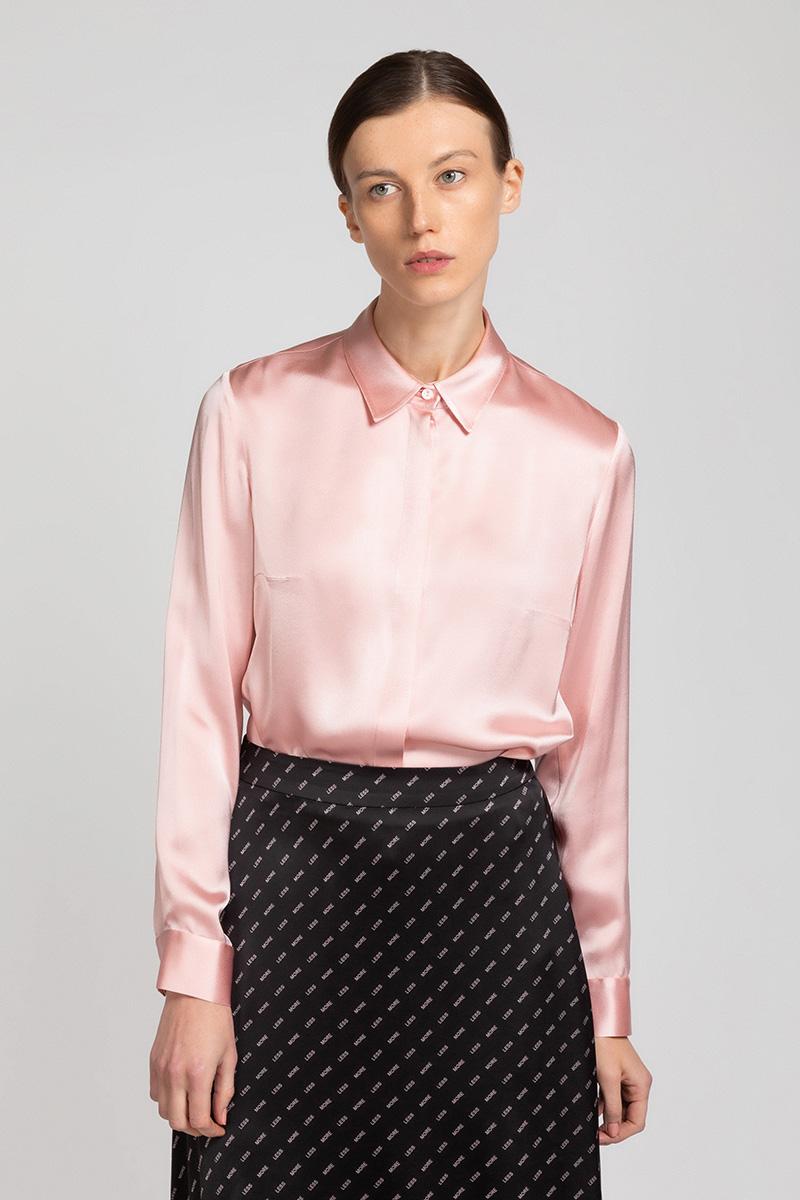 Лаконичная блузка из вискозы VASSA&Co фото