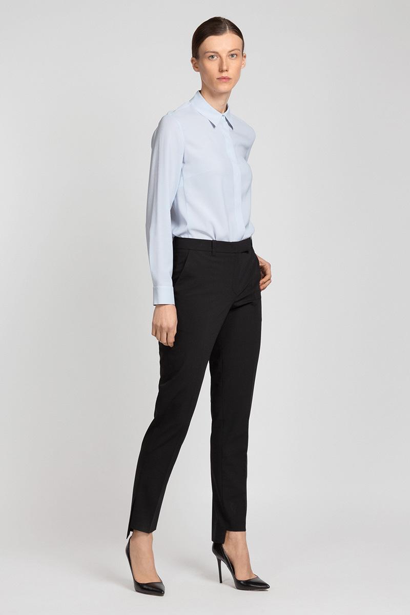 Классические брюки с перепадом длин VASSA&Co