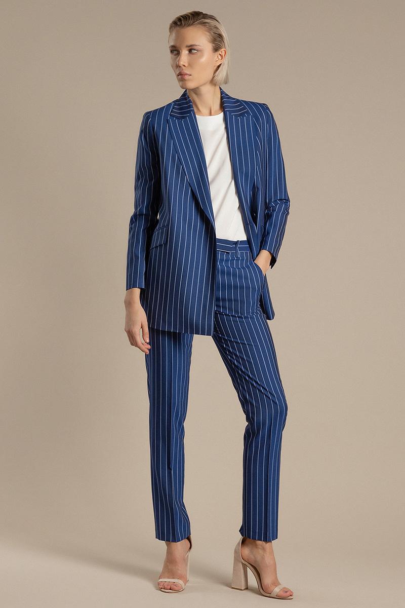 Прямые брюки из шерсти VASSA&Co фото