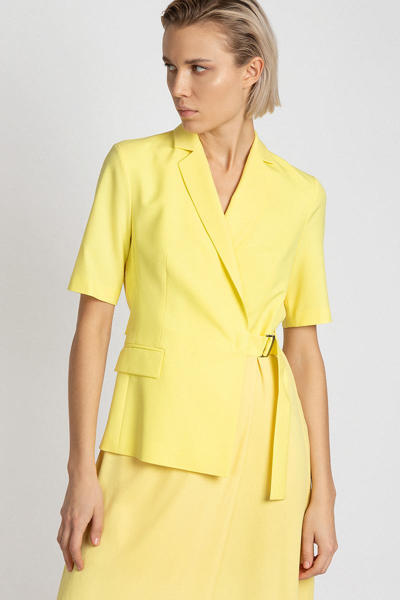Платье с комбинированным дизайном VASSA&Co фото
