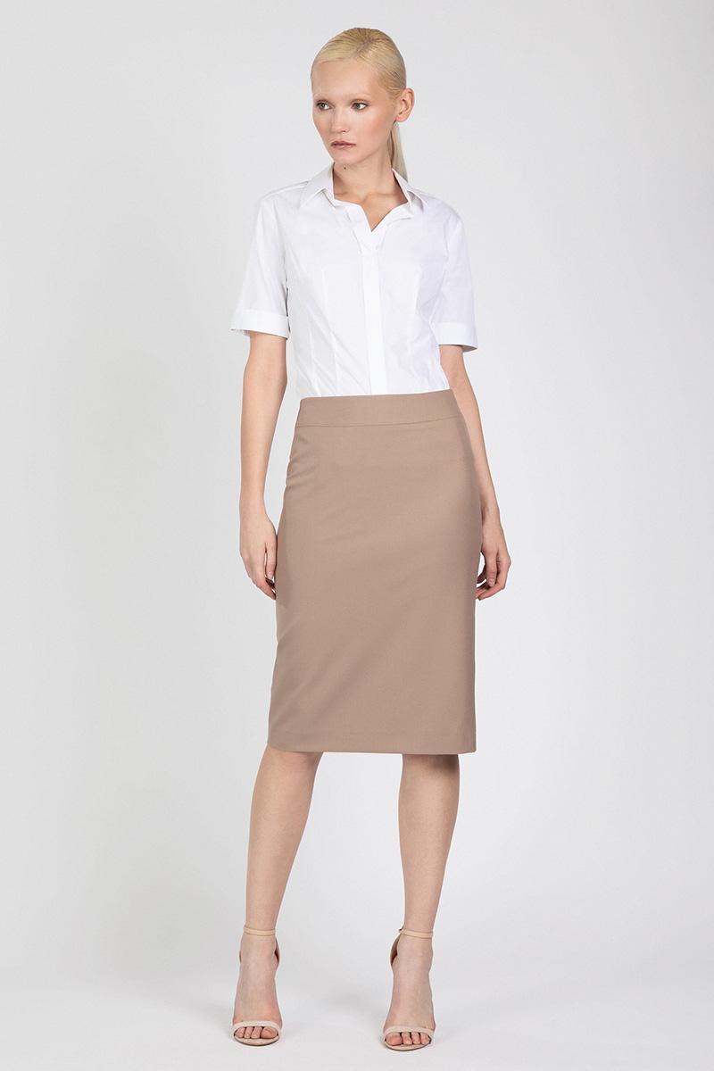 Классическая юбка зауженного силуэта VASSA&Co фото