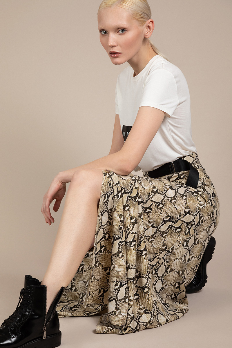 Длинная юбка на пуговицах VASSA&Co фото