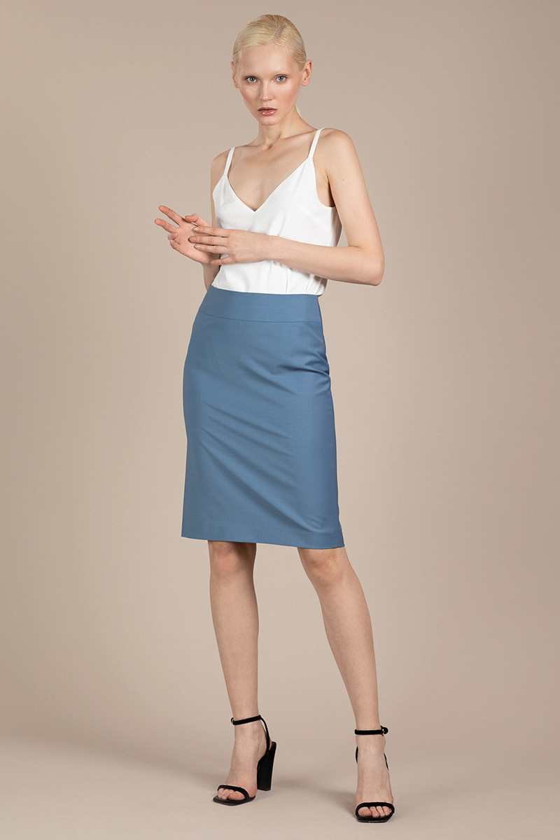 Лаконичная юбка-карандаш VASSA&Co фото