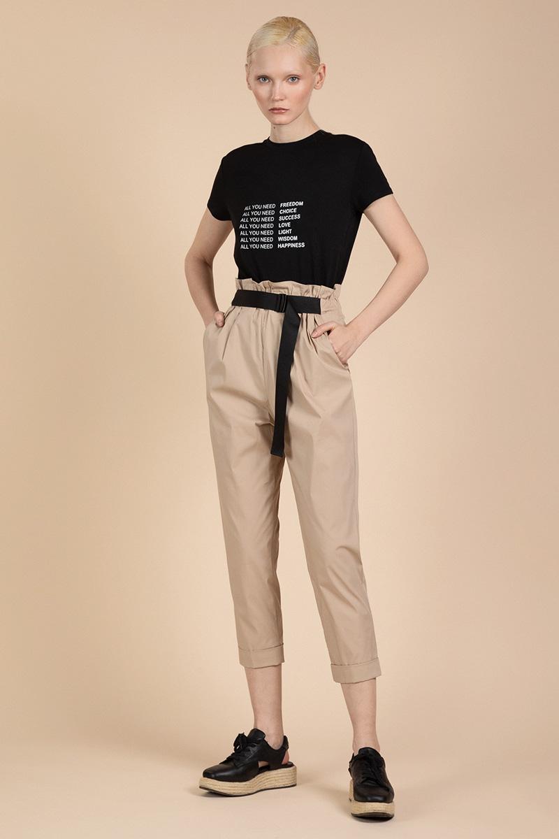 Легкие брюки спортивного кроя VASSA&Co фото