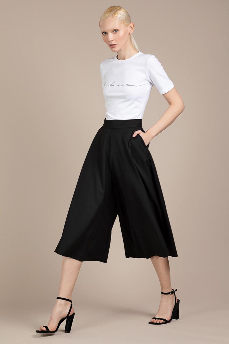 Юбка - брюки с высокой посадкой VASSA&Co фото