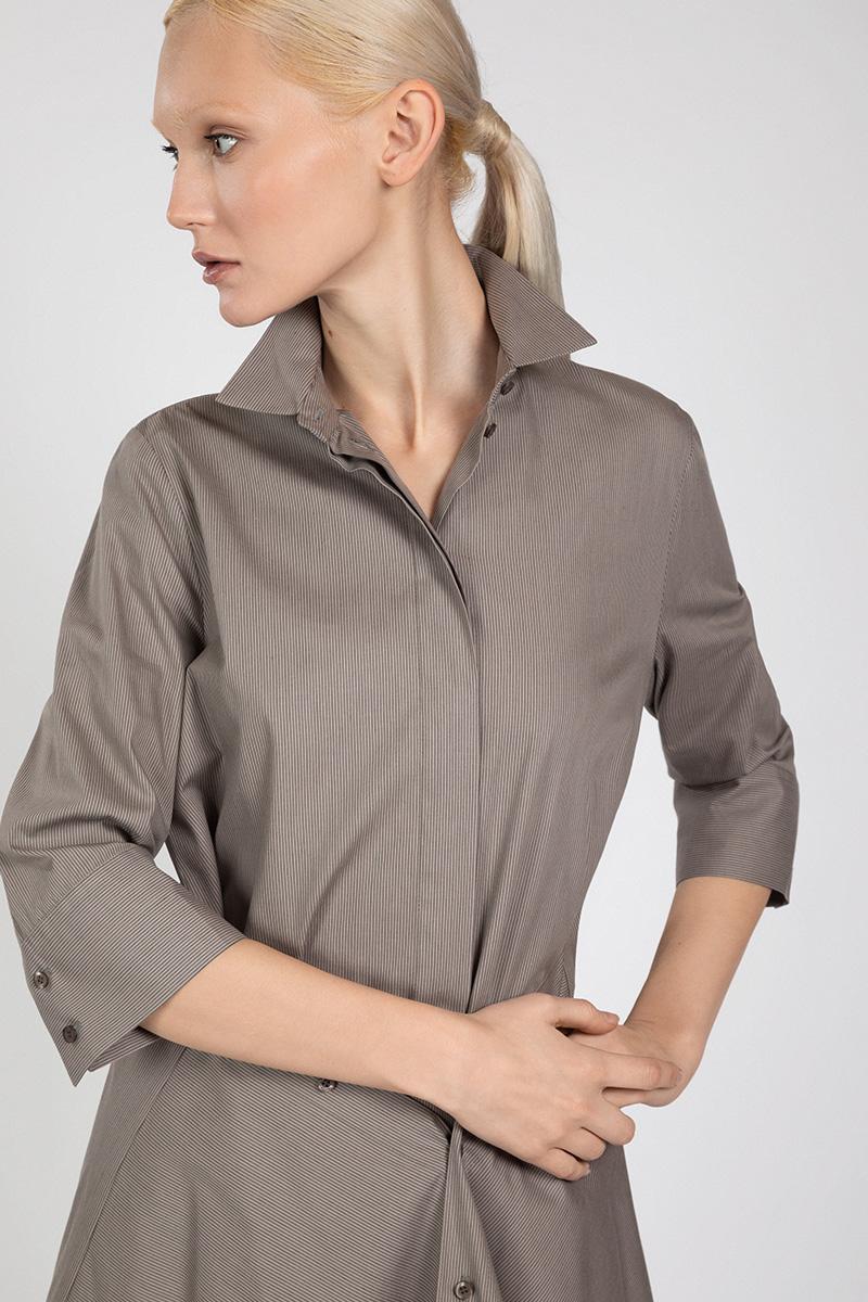 Платье-рубашка на пуговицах VASSA&Co фото