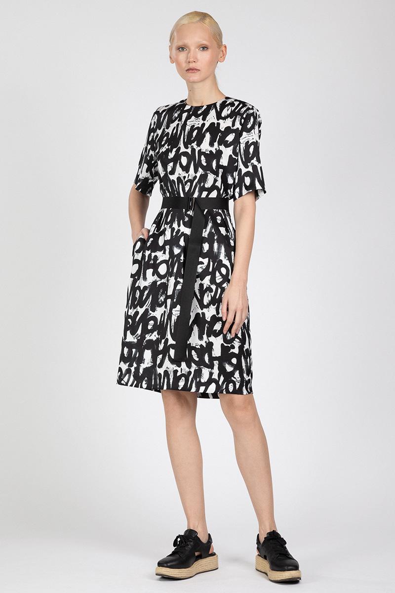 Платье свободного кроя VASSA&Co