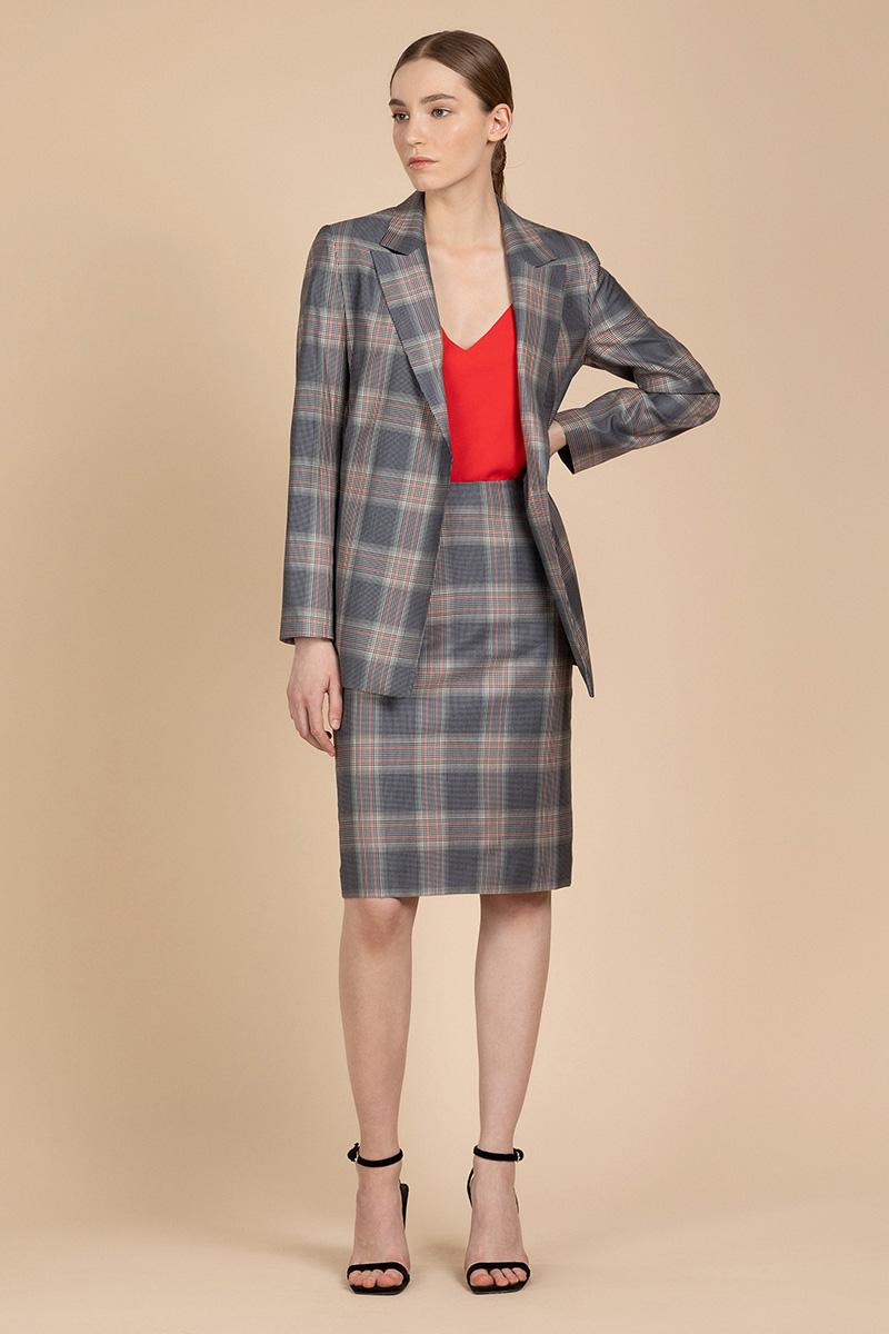 Классическая юбка - карандаш VASSA&Co фото