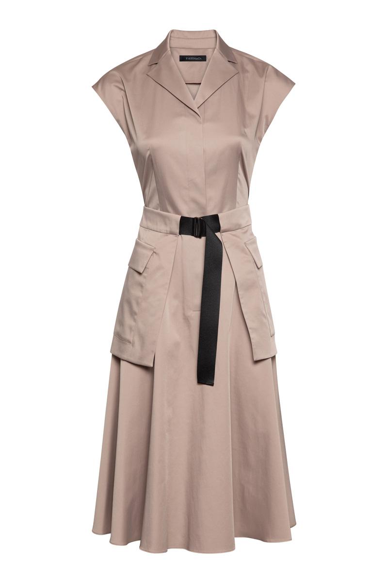 Платье в стиле милитари VASSA&Co