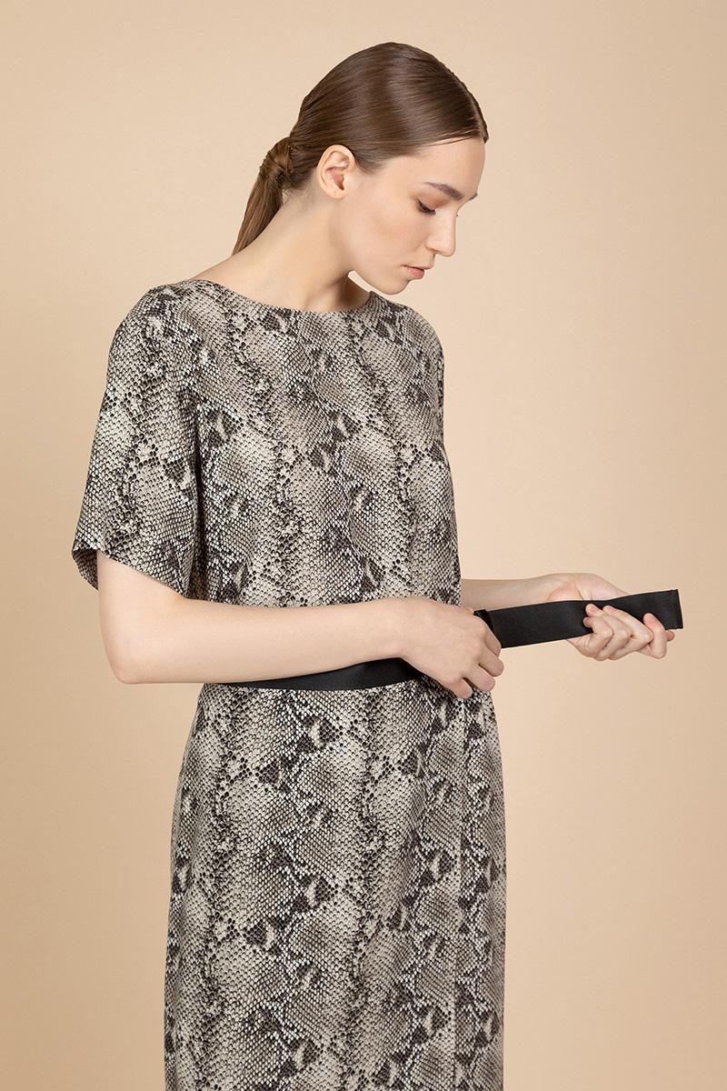 Платье с коротким рукавом VASSA&Co фото