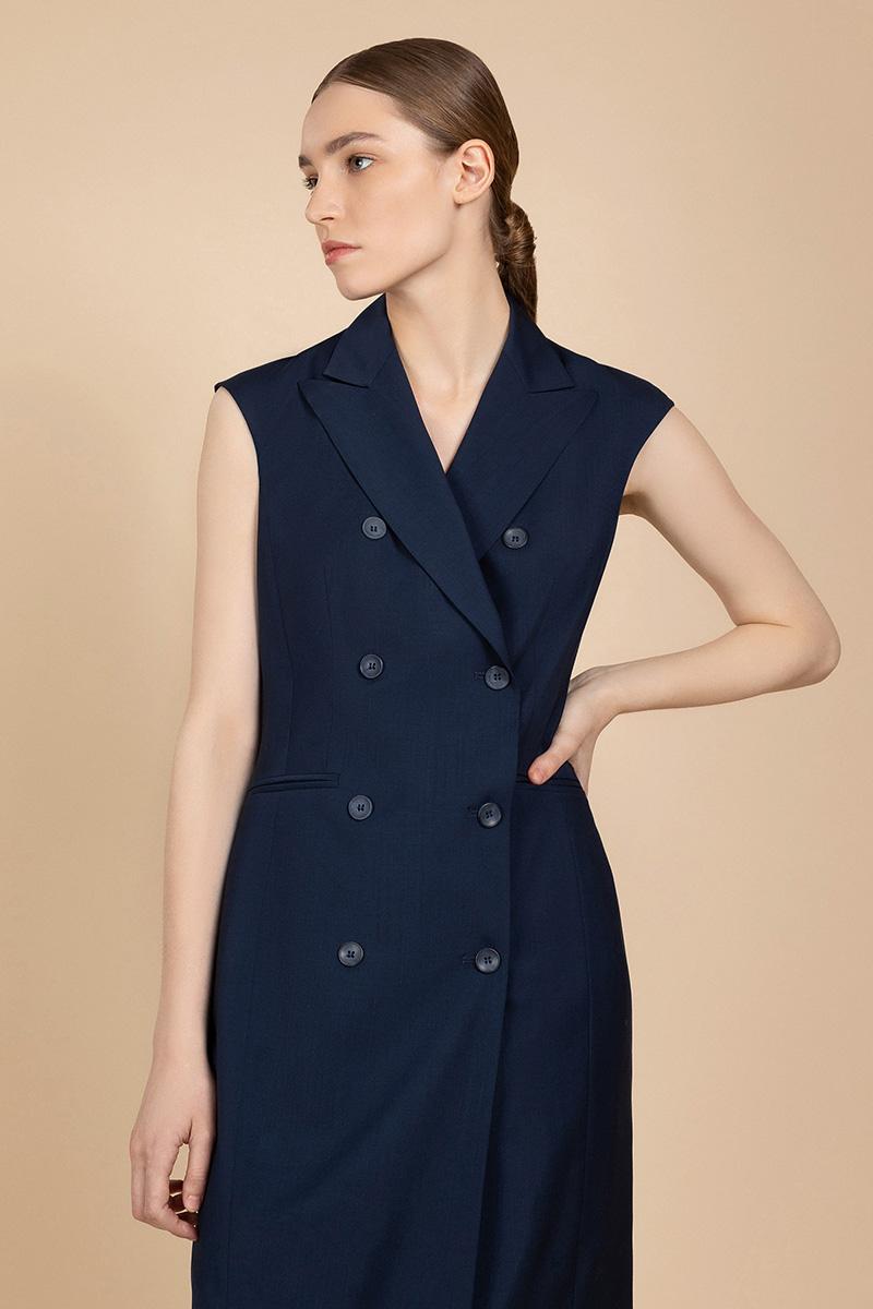 Трендовое двубортное платье VASSA&Co фото
