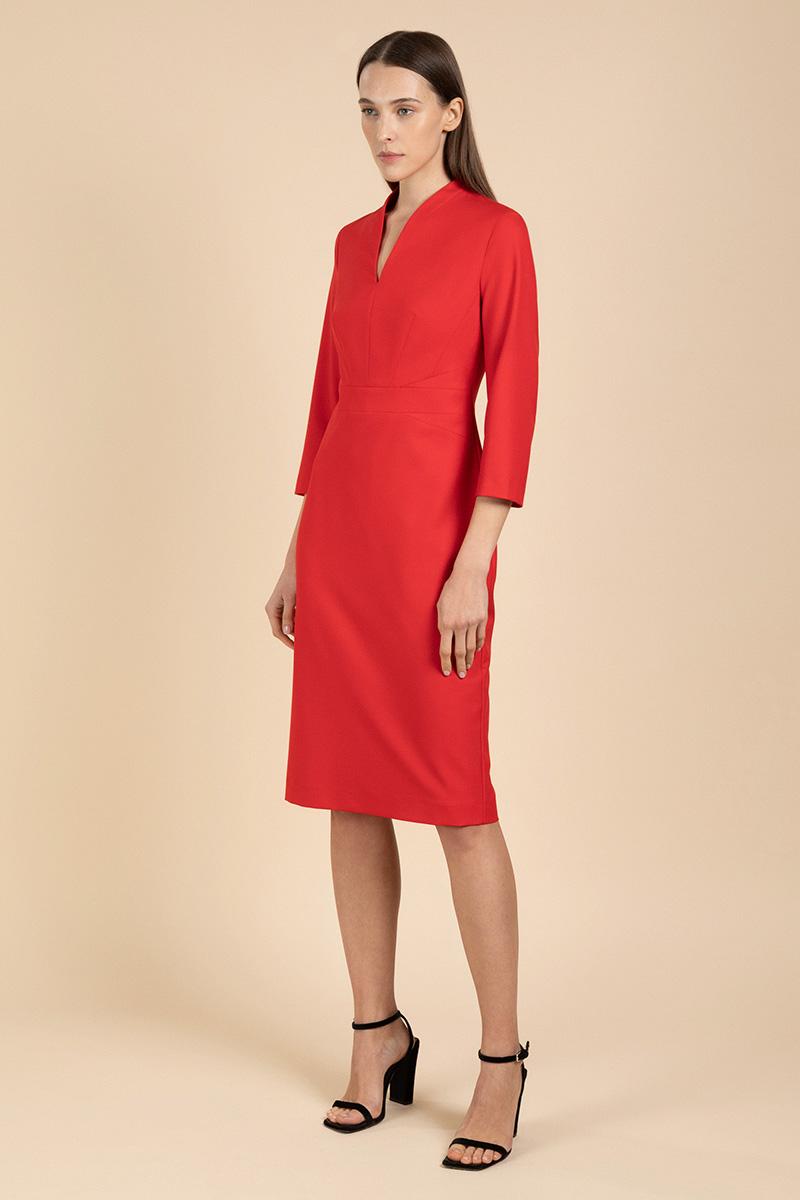 Платье-футляр с акцентом на талии VASSA&Co фото