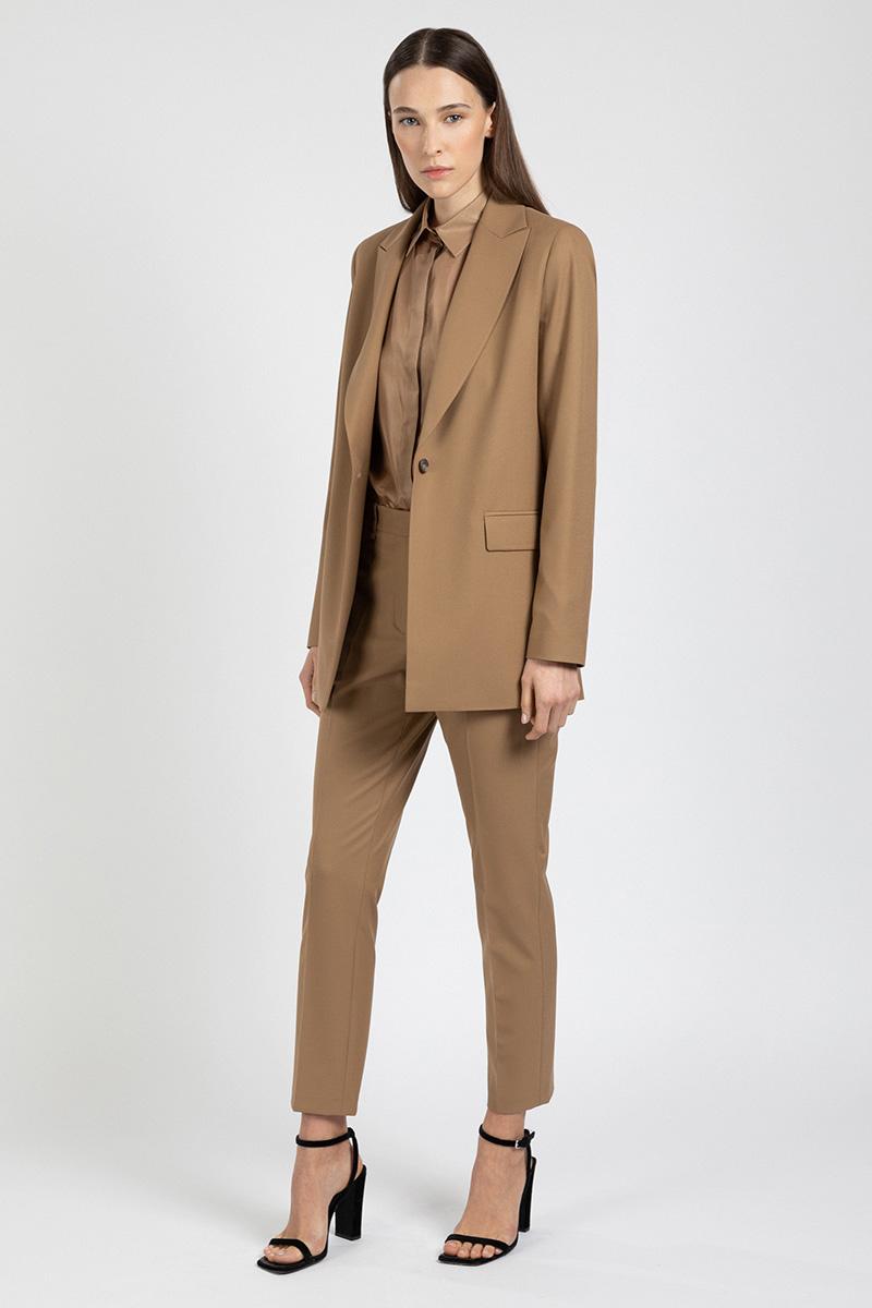 Зауженные брюки со стрелками VASSA&Co фото