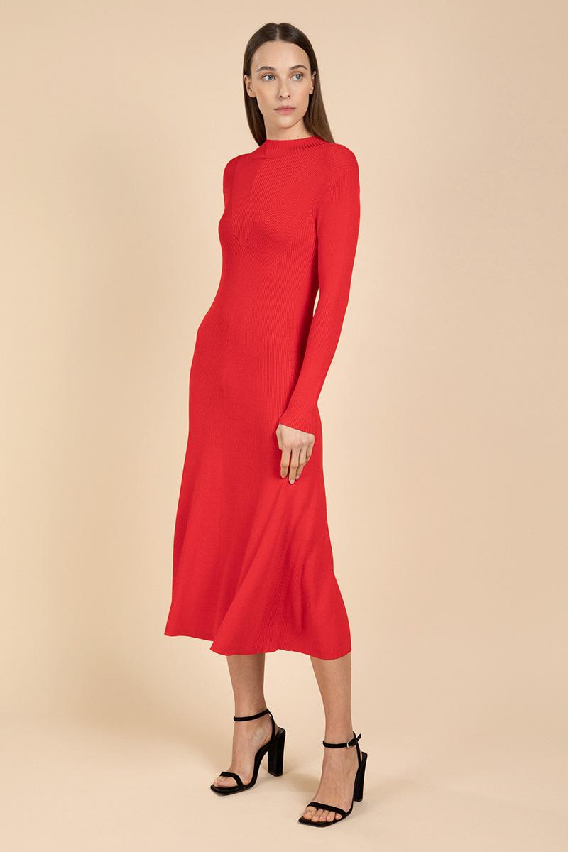 Платье женское с длинным рукавом VASSA&Co фото