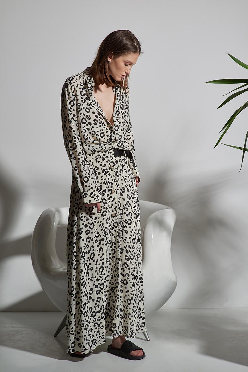 Блузка с длинным рукавом с принтом VASSA&Co фото