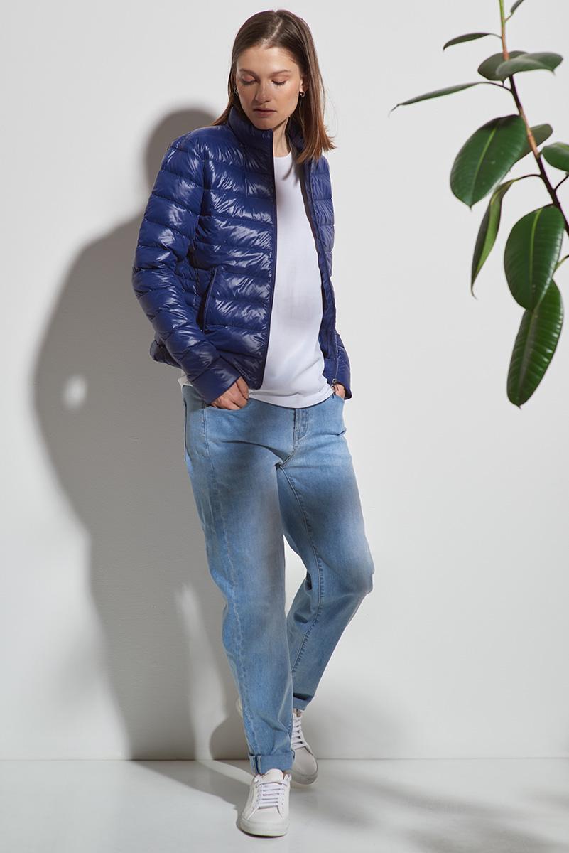 Куртка пуховик с воротником стойкой VASSA&Co фото