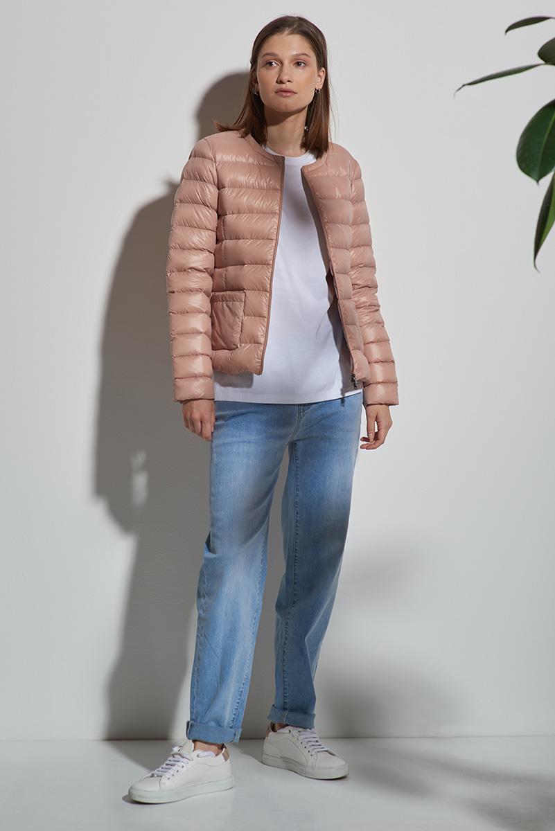 Куртка пуховик без воротника VASSA&Co фото