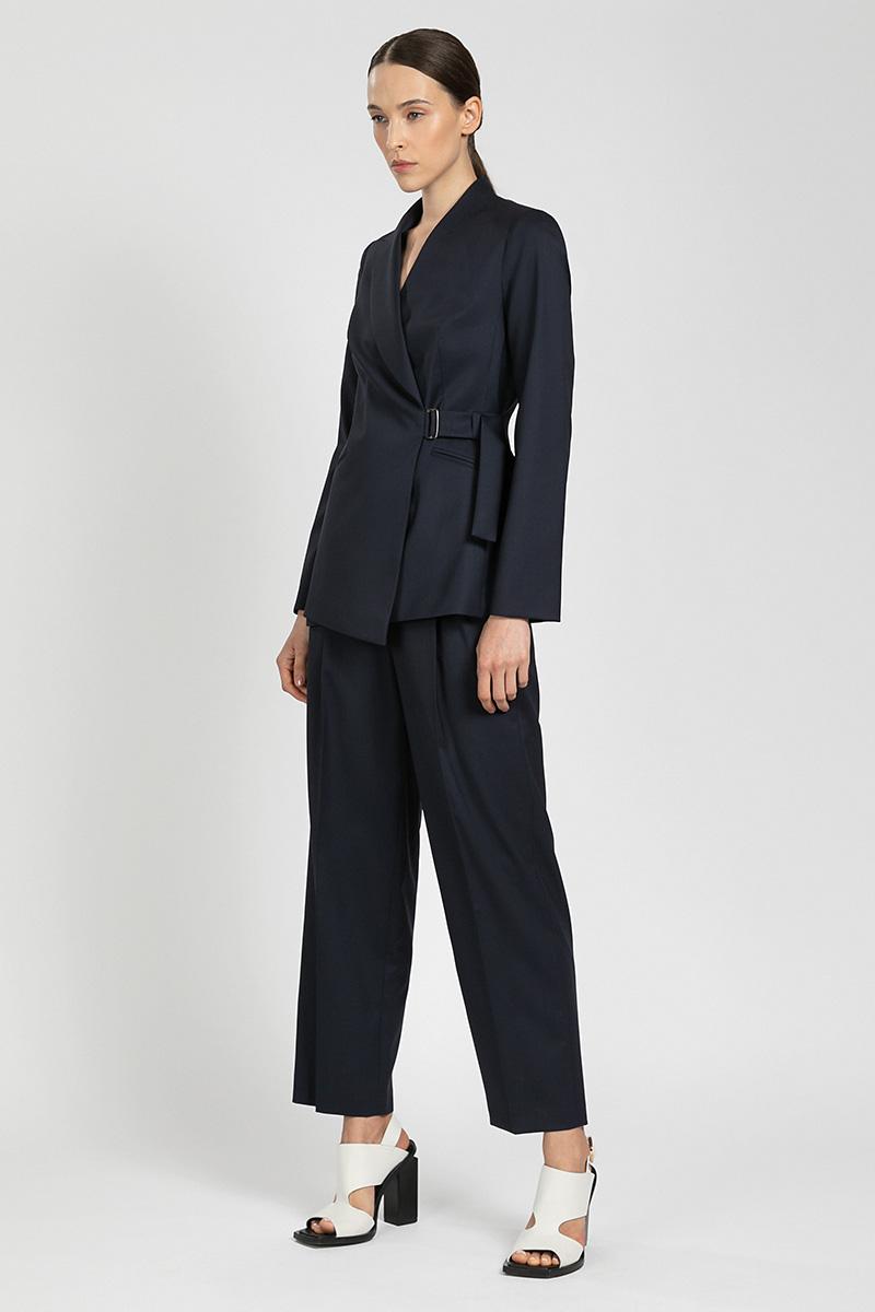 Прямые укороченные брюки VASSA&Co фото