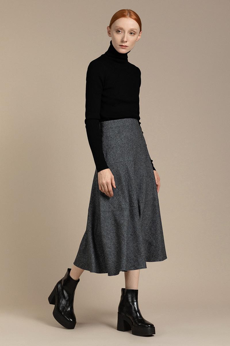 Твидовая юбка - годе VASSA&Co фото