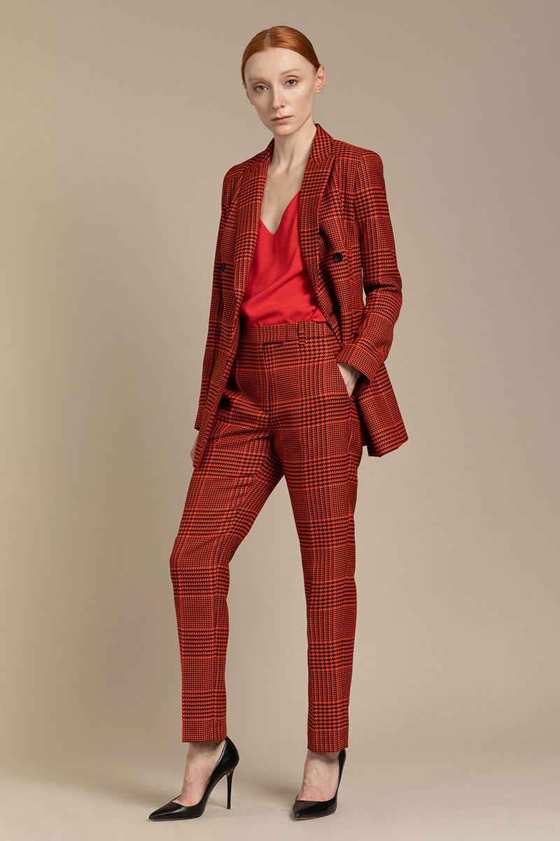 Классические зауженные брюки VASSA&Co фото