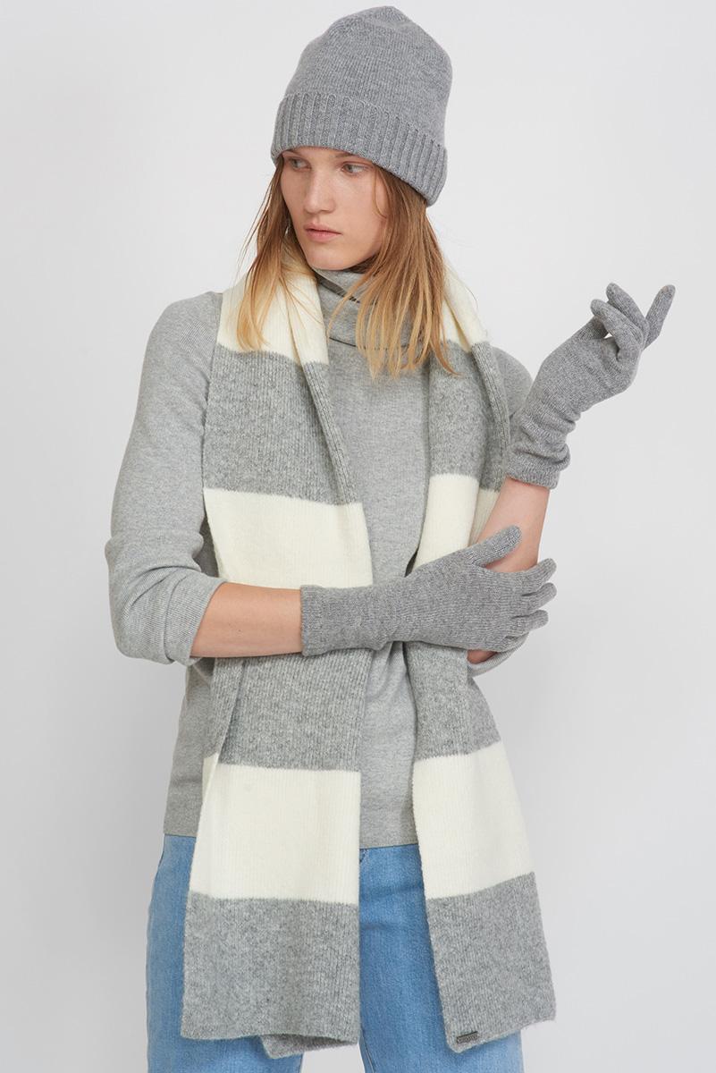 шарф vassa Перчатки трикотажные с удлиненной крагой VASSA&Co