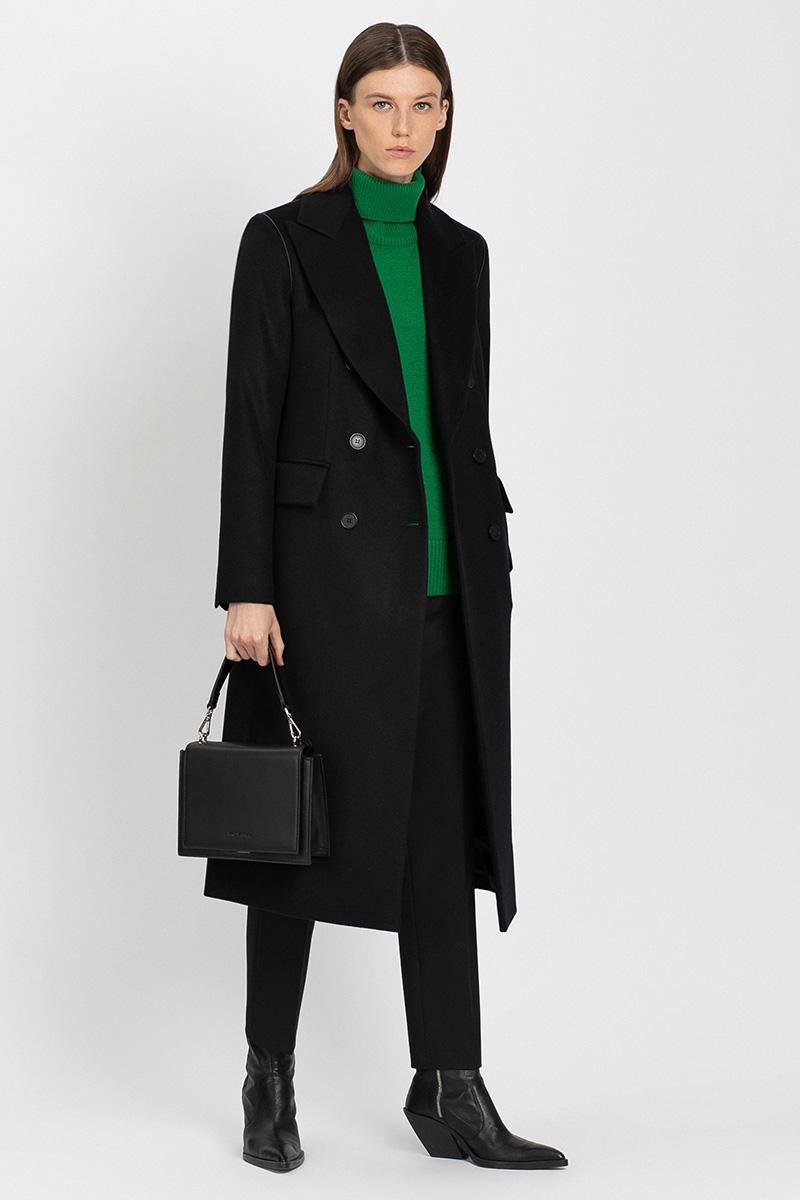 Двубортное пальто VASSA&Co