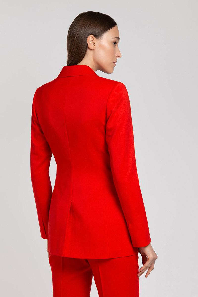 dbbec8e77ade Шерстяной костюм красного цвета